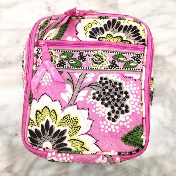 5983cfc0ca Vera Bradley Priscilla Pink insulated lunch box. M 5b99311daa57197ae37865a5